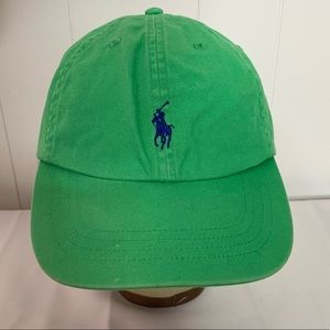 Polo Ralph Lauren Cotton Chino Hat Cap Embroidered